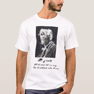Mens T-Shirt - William Butler Yeats