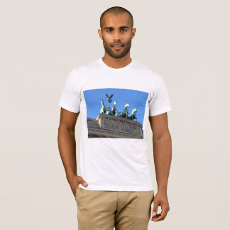 Men's T-shirt with Brandenburg Gate