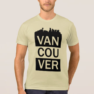 Men's t-shirt with Vancouver lettering
