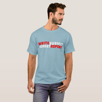 Men's T-Shirt (Write Submit Forget Repeat)