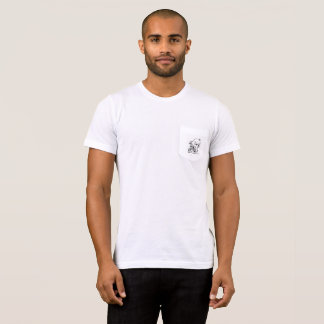 Mens T with pig on pocket T-Shirt