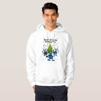 Men's Tacky Christmas Holiday Hoodie