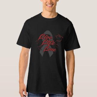 Men's Tall Hanes T-shirt w/ LLL Grey logo