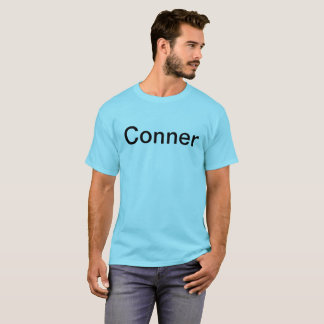 Mens. teal Conner lechocki shirt. T-Shirt