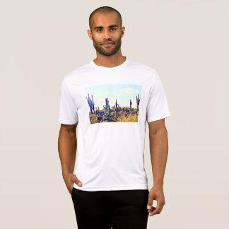"Men's Tee Shirt ""Desert Saguaros"""
