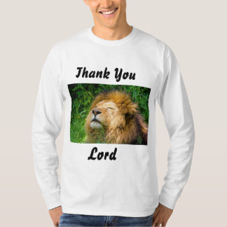 Men's Thank You Lord Long Sleeve T-Shirt