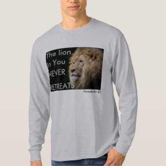 Mens The Lion In You Long SleeveT T-Shirt