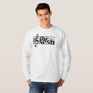 "Men's ""the sesh"" Musical Scale Long Sleeve T-Shirt"