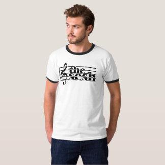 """Men's """"the sesh"""" Musical Scale Ringer T-Shirt"""