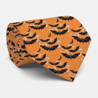 Men's Tie-Halloween Bats Tie