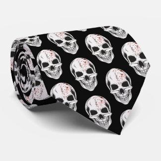 Men's Tie-Halloween Skulls Tie