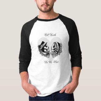 Men's Till Death Do Us Part Sugar Skull T-shirt