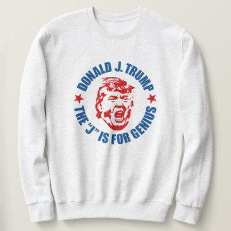 """Men's Trump Sweatshirt: """"The J is for Genius"""" Sweatshirt"""