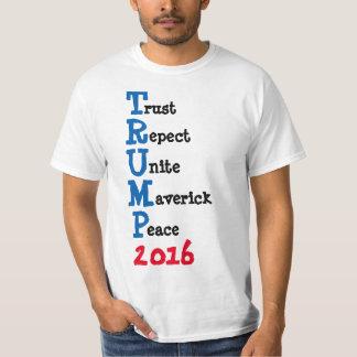 Men's TShirt TRUMP 2016