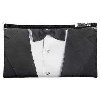 Mens Tuxedo Case Cover Makeup Bag