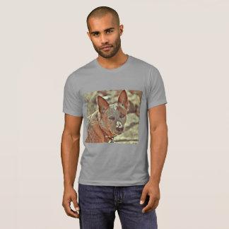 """Men's Ultra Cotton """"Boomer"""" Red Heeler Tee Shirt."""