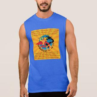 Men's Ultra Cotton Sleeveless T-Shirt-Armor of God