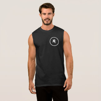 Men's Ultra Cotton Sleeveless T-Shirt, Black Sleeveless Shirt