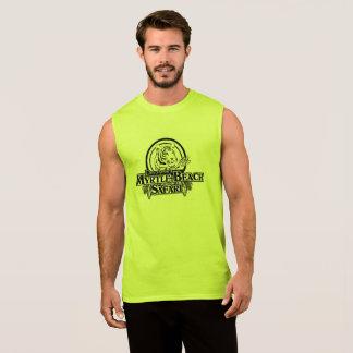 Men's Ultra Cotton Sleeveless T-Shirt - YELLOW