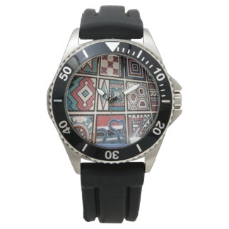 Men's unique Stainless Steel Watch