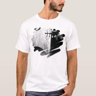 Men's Violin Scribble T-Shirt