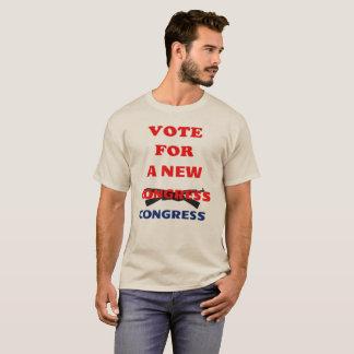 Men's Vote For A New Congress. Children Over Money T-Shirt