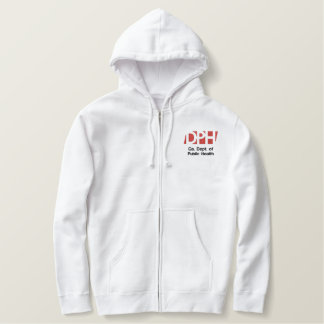 Men's White Hooded Sweat Shirt