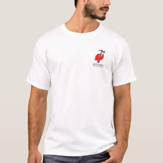 Mens White Pinchy T T-Shirt