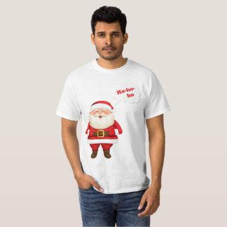Men's White Santa T-Shirt