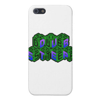 Mens Womens 3D Neon Cubes logo DUBSTEP Case For iPhone 5