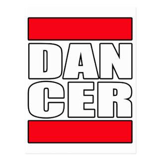 Mens womens dance dancing dancer t shirt tee postcard