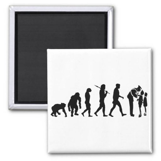 Mens Womens Emergency Services Evolution Work Magnets