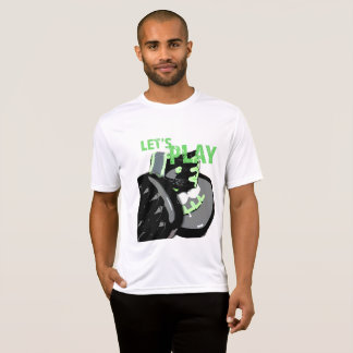 Mens Workout Shirt Lets Play