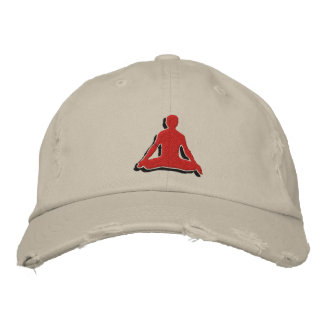 Men's Yoga Embroidered Cap Embroidered Baseball Cap