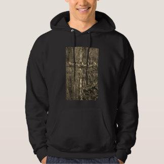 #mensfashion copper cross hoodie by DAL