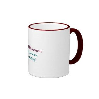 Mental Health Awareness, Stop The Ignorance,Sta... Mug