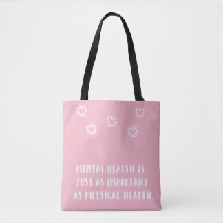 Mental Health Awareness Tote