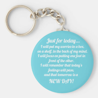 Mental health key ring