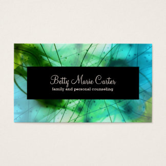 Mental Health Professional Business Cards