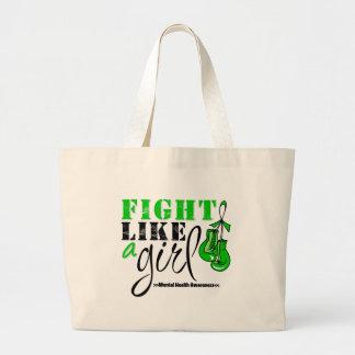 Mental Heatlh Awareness Fight Like a Girl Bags