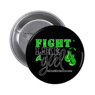 Mental Heatlh Awareness Fight Like a Girl Button