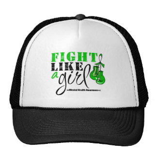 Mental Heatlh Awareness Fight Like a Girl Cap