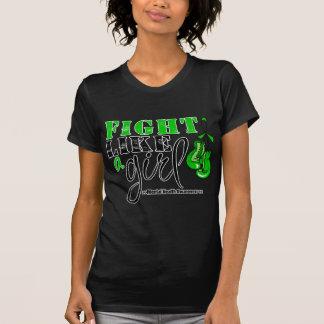 Mental Heatlh Awareness Fight Like a Girl T Shirt