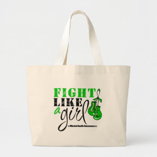 Mental Heatlh Awareness Fight Like a Girl Bags
