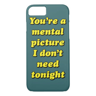 MENTAL PICTURE iPhone 7 CASE
