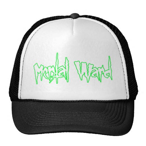 Mental Ward Trucker Mesh Hats