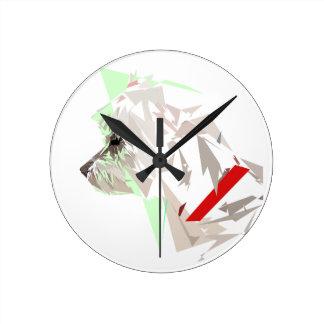 Menthéos Round Clock