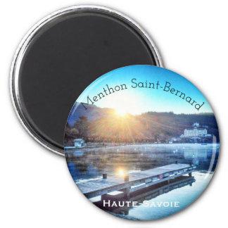 Menthon Saint-Bernard, Haute-Savoie Round Magnet