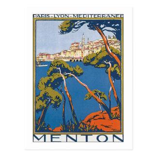 Menton Postcard