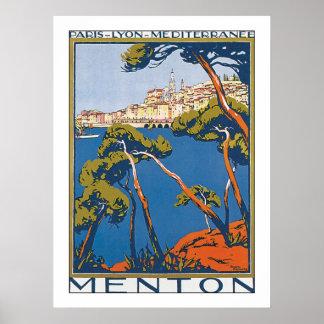 Menton Print